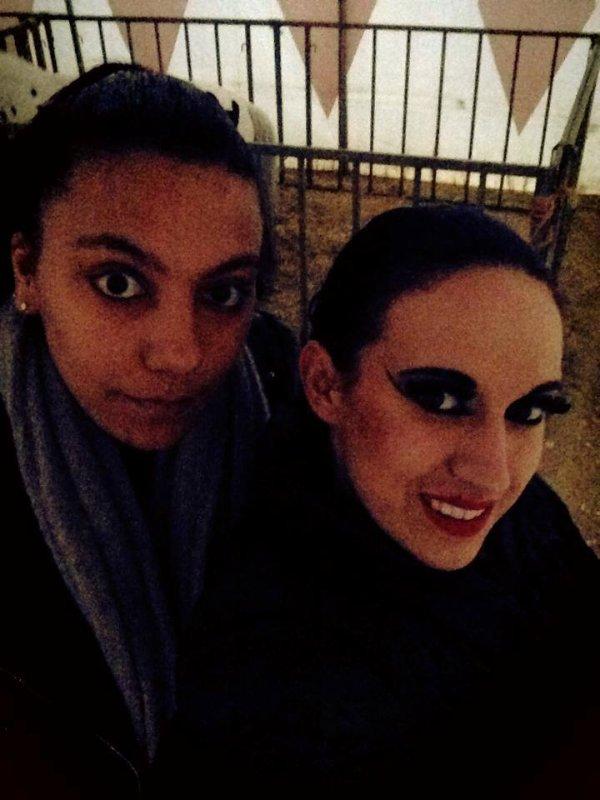Mon amie du cirque bouglione