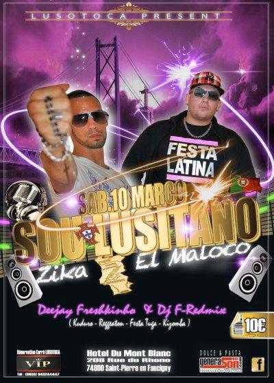 ☆ ☆ Soirée Latino, Zika & El Maloco.. Show Case ☆ ☆