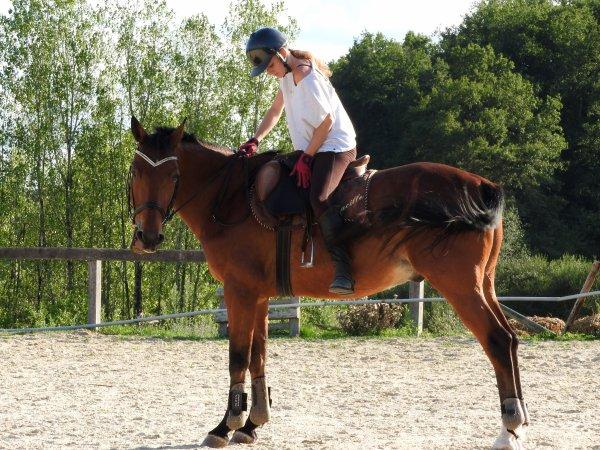L'équitation est le seul sport individuel qui se pratique à deux.