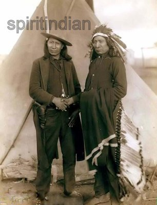MAKH-PIYA-LU-TA (1822-1909) CHEFS SIOUX: Red Cloud