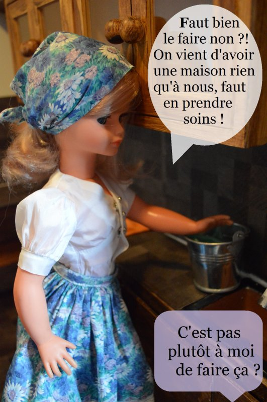 Gwendolinne fait le ménage de la cuisine [partie 2]