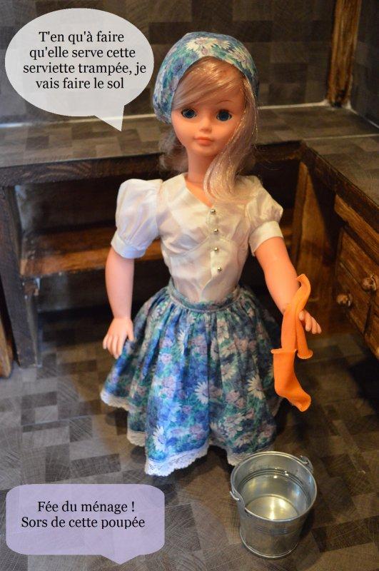 Gwendolinne fait le ménage de la cuisine [partie 3]