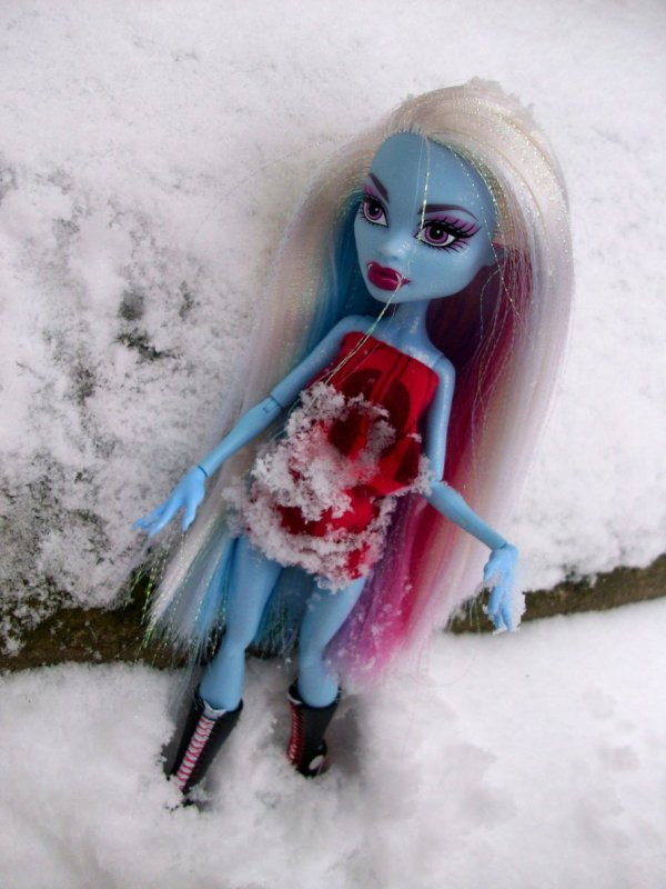 La neige, par Gundelinna *REPOST*