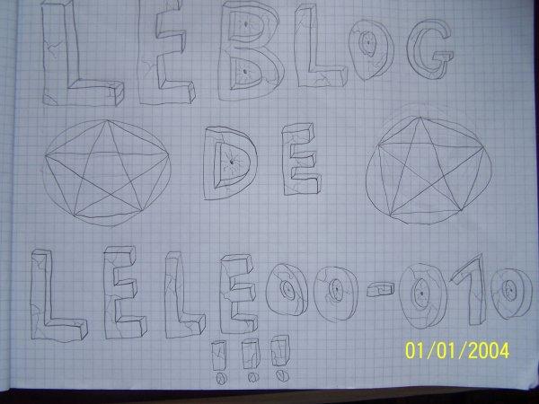 dessin de mon blog fait par moi