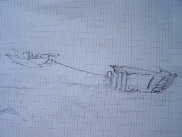dessin de mes pote
