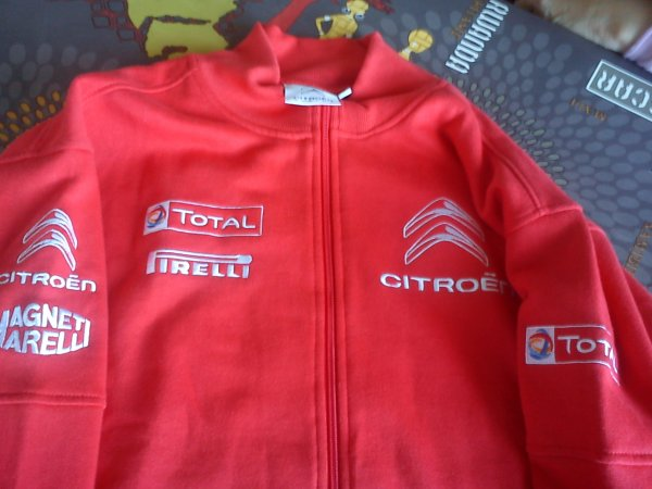 Veste Citroen Racing