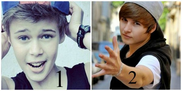 Who's look like more.. Justin Bieber !!!!