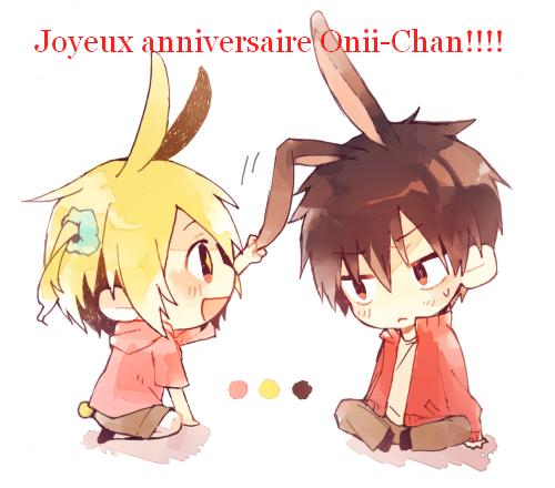 Happy Birthday Onii-Chan!