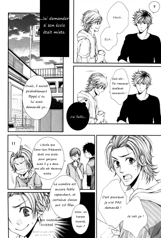 [One-shot ; Dôjinshi] Chooser Lover - Open 24 Hours a Day [1/3]