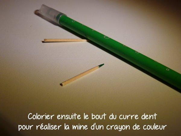 Tutos n°1 : Crayon de couleurs ou crayon à papier pour pullip !!