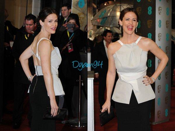 10 Février 2013... BAFTA Awards 2013 au Royal Opera House à Londres.