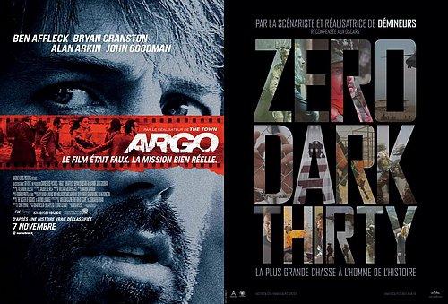 Argo et Zero Dark Thirty récompensés par le syndicat des scénaristes (WGA)
