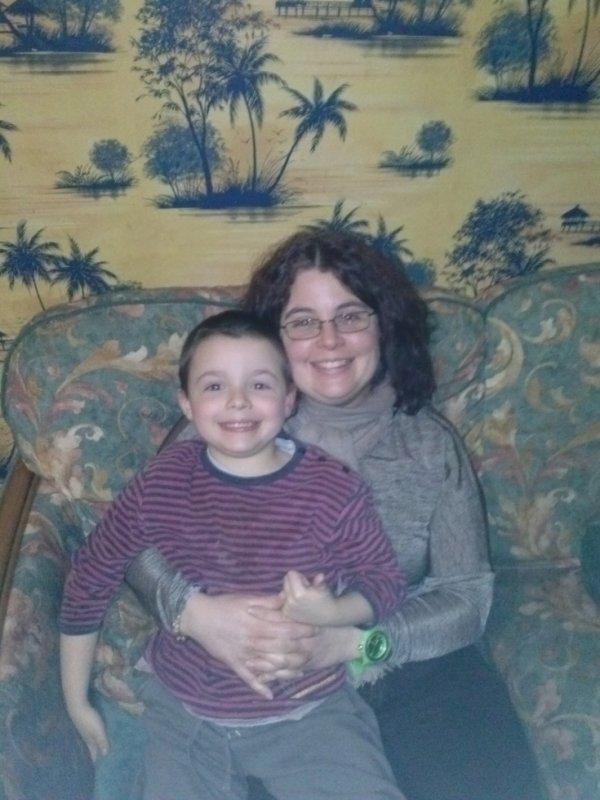 mon garçon de 6 ans et moi
