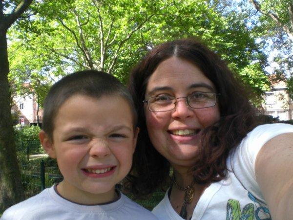 mon fils de 6 ans et moi