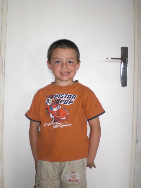 mon garçon de 6 ans