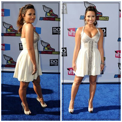 Vh1 Do Something Awards Arrivée de Demi Lovato et Bella Thorne - Le 14 août 2011
