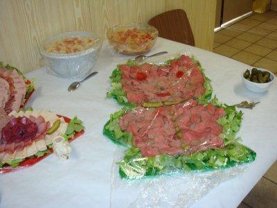 Buffet froid bapteme 45 pers blog de titidu68310 - Presentoir buffet a faire soi meme ...