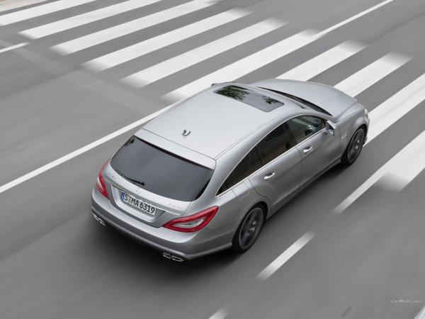 Mercedes-Benz CLS 63 amg Shooting-Brake