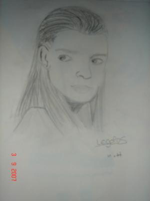 Legolas [Fait au crayon de papier]
