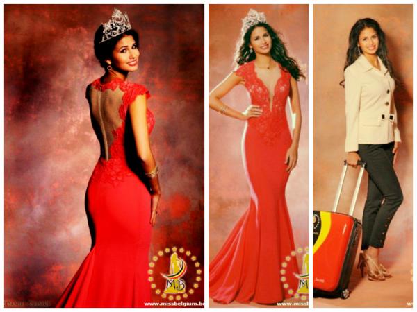 Miss Belgique a la conquète du monde.