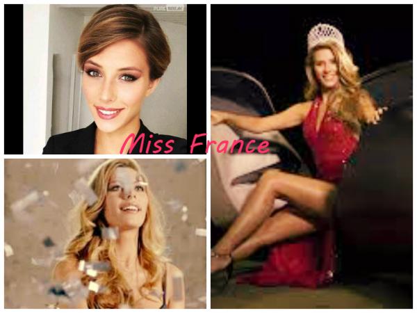 La nouvelle Miss France a été élue.