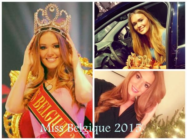 Notre nouvelle Miss Belgique et sa dauphine.