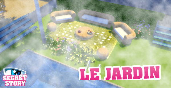 Image exclusive du jardin !