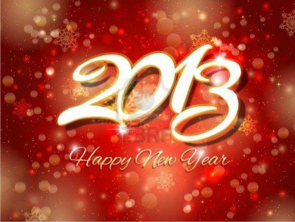 Bonne Année 2013!! ♥