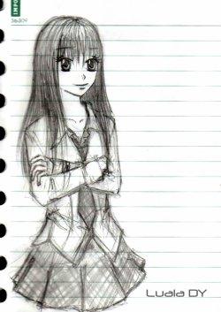 L'évolution du personnage qu'est Mio