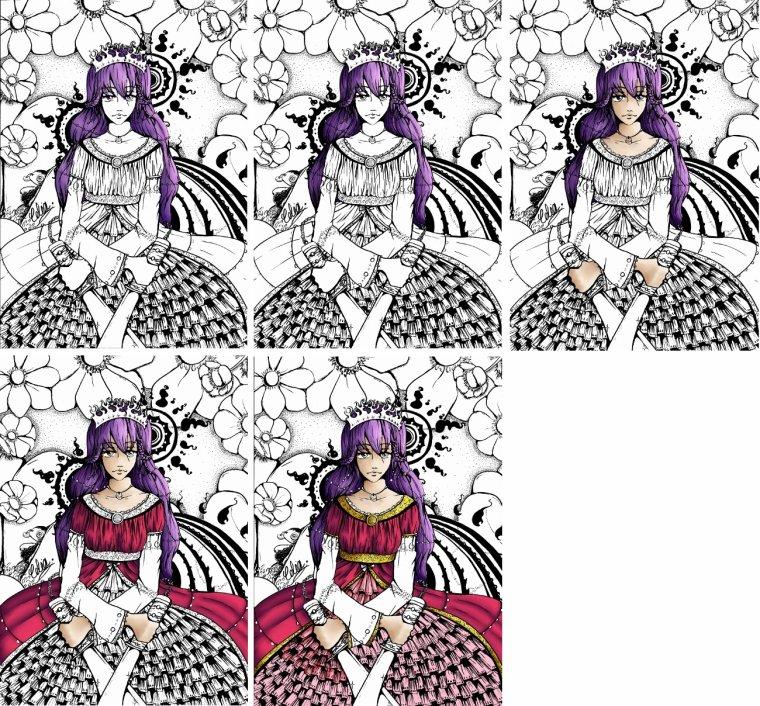 La Reine (collab)