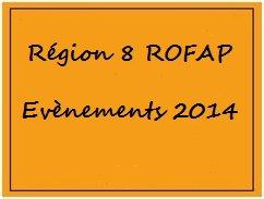 Calendrier des concours de la ROFAP.