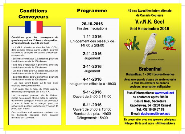 Concours International.