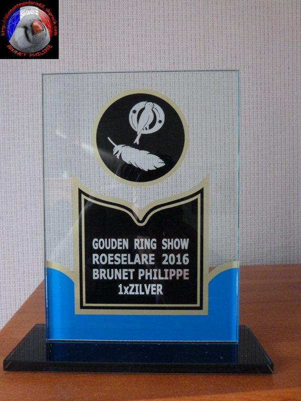 Trophée bague d'Or