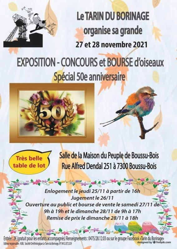 Exposition en Belgique.