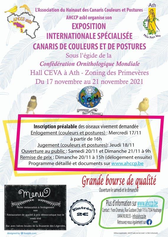 Exposition COM en Belgique.