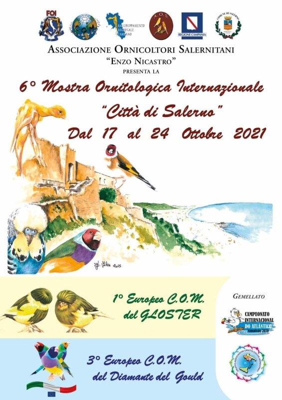 Exposition COM Italien avec le Championnat d'Europe du Gould.
