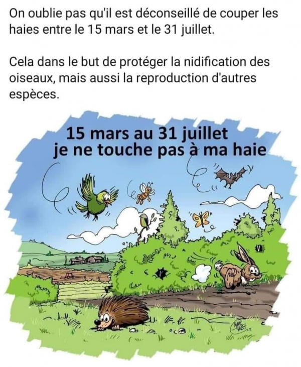 On oublie pas !!!