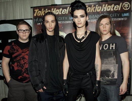 TOKIO HOTEL était en concert à Sao Paulo le 23 Novembre