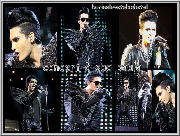 foto du concert à sao paulo au brésil du 23.11.10