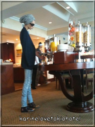 Bill & Tom in Marriot Hotel (Lima, Peru) 26 novembre 2010