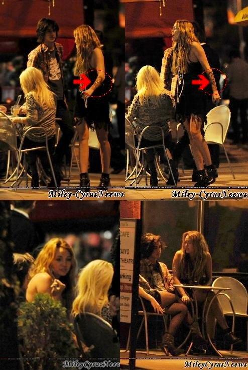 29 Octobre Miley A été Vue Dînant Avec Des Amis Au Restaurant Bourgeois Pig à Los Feliz & DVORCE Tish Et BIlly Ray Cyrus + News