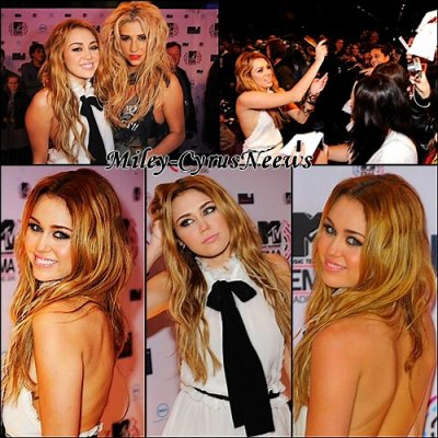 Le 7 Novembre Miley Etait A Madrid La Cérémonie Des MTV Europe Music Awards