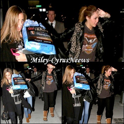 12 Novembre Miley Manhattan + Miley Chante Pour Microsoft + « So Undercover »