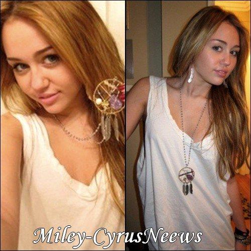 Le 4 Décembre Miley posant avec des bijoux de la ligne « Jewelry By Veronique » + Miley lutte contre le sida + Répétitions des AMA à Los Angeles - Le 21 novembre