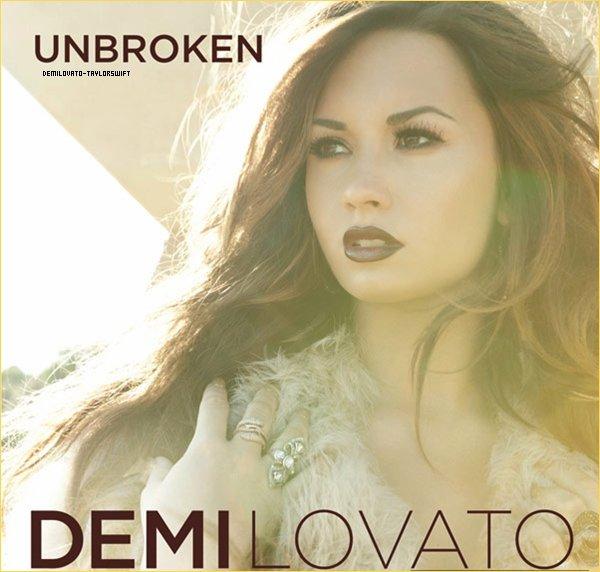 . Découvre la pochette du nouvel album de Demi, qui sortira le 20 septembre..