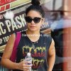 Vanessa leaving her yoga workout on Friday afternoon  - 24.08.2012