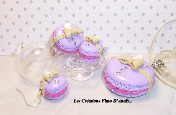 Parure Macarons Vintage Romantique =)