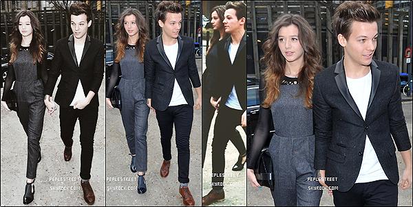 . 18/02/2013 : Louis et sa petite amie Eleanor sont allés au Topshop Fashion Show.Je n'aime pas trop sa tenue, mais je trouve qu'elle lui va bien. C'est un BOF, et toi ?.