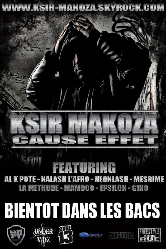retrouvez MAMDOO sur l'album de KSIR MAKOZA - Cause Effet