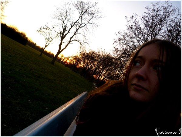 Camylle, at dusk.